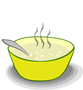 https://pixabay.com/en/soup-bowl-food-steam-pot-steaming-297736/