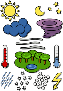 https://pixabay.com/en/weather-symbols-temperature-rain-153934/