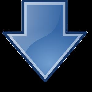 https://pixabay.com/en/arrows-blue-down-download-glossy-147753/