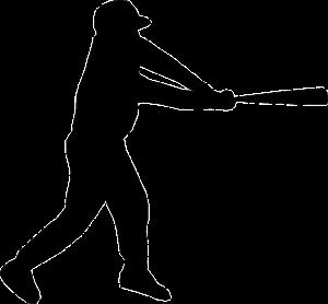 https://pixabay.com/en/baseball-baseball-bat-hit-black-150324/