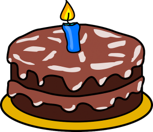 https://pixabay.com/en/cake-chocolate-candle-one-icing-305217/