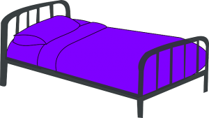 https://pixabay.com/en/cot-purple-bed-sleep-sleeping-312131/