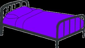 https://pixabay.com/en/cot-purple-bed-sleep-sleeping-312131/