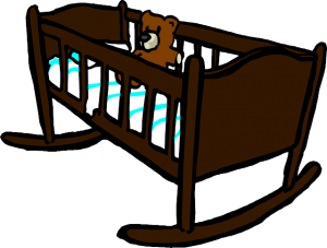 https://pixabay.com/en/cradle-crib-baby-teddy-wooden-308342/