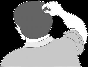 https://pixabay.com/en/head-human-person-man-scratch-148207/