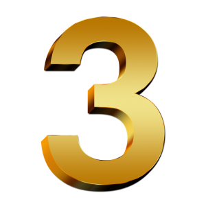 https://pixabay.com/en/pay-gold-three-number-digit-3d-634912/