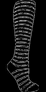 https://pixabay.com/en/sock-stripes-striped-clothing-161411/
