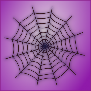 https://pixabay.com/en/spider-s-web-cobweb-symmetric-black-306942/