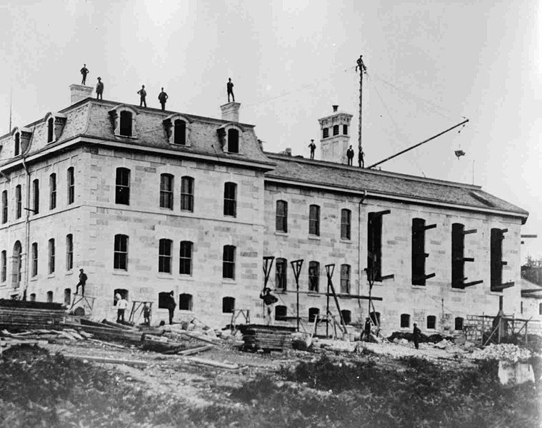 http://commons.wikimedia.org/wiki/File:BCPenitentiaryConstruction1877.jpg#file
