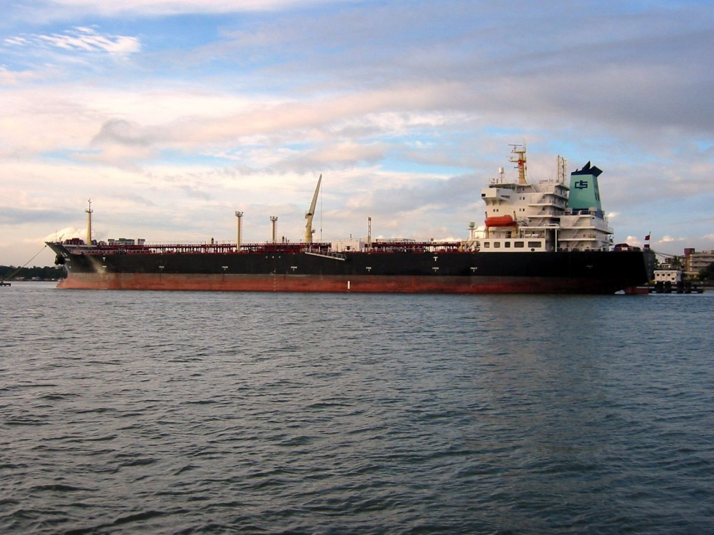 http://commons.wikimedia.org/wiki/File:Oil_tanker_in_Japan.jpg