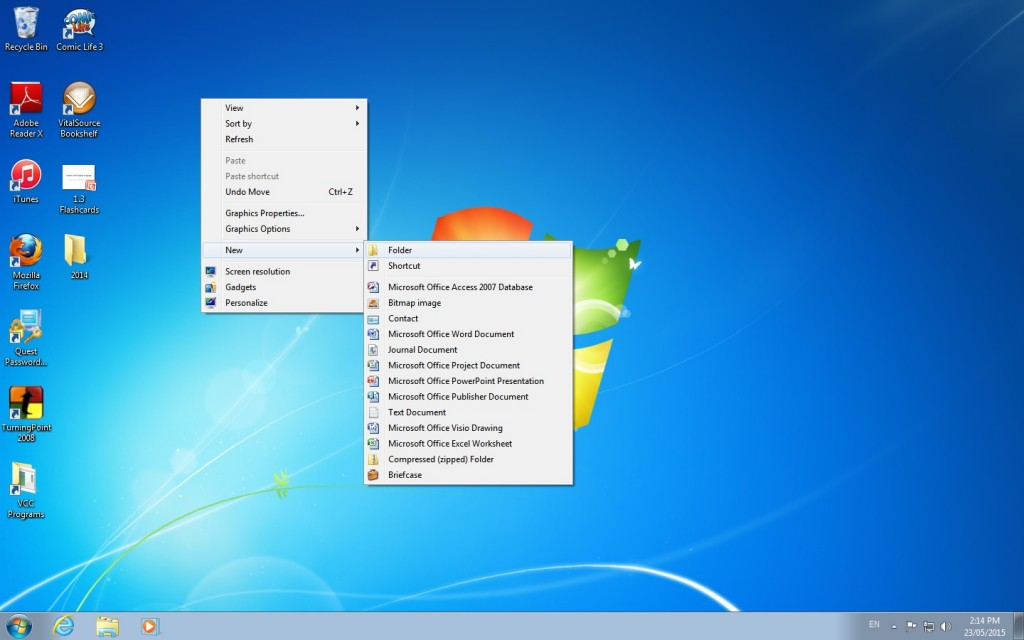 New Folder - screenshot by author