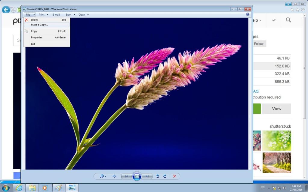 file make a copy - screenshot by author