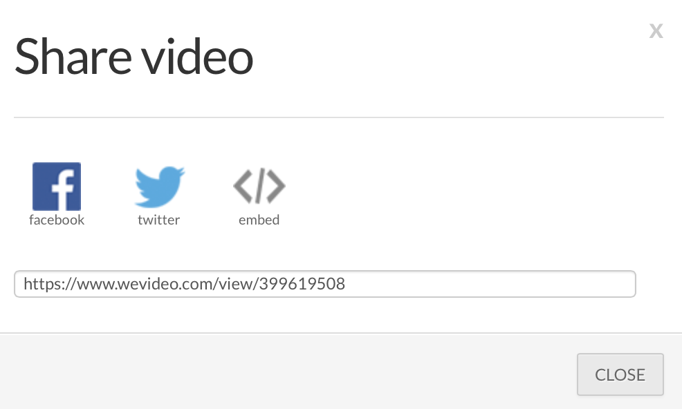 share video not highlighted