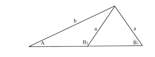 1 triangle with 2 triangles inside.