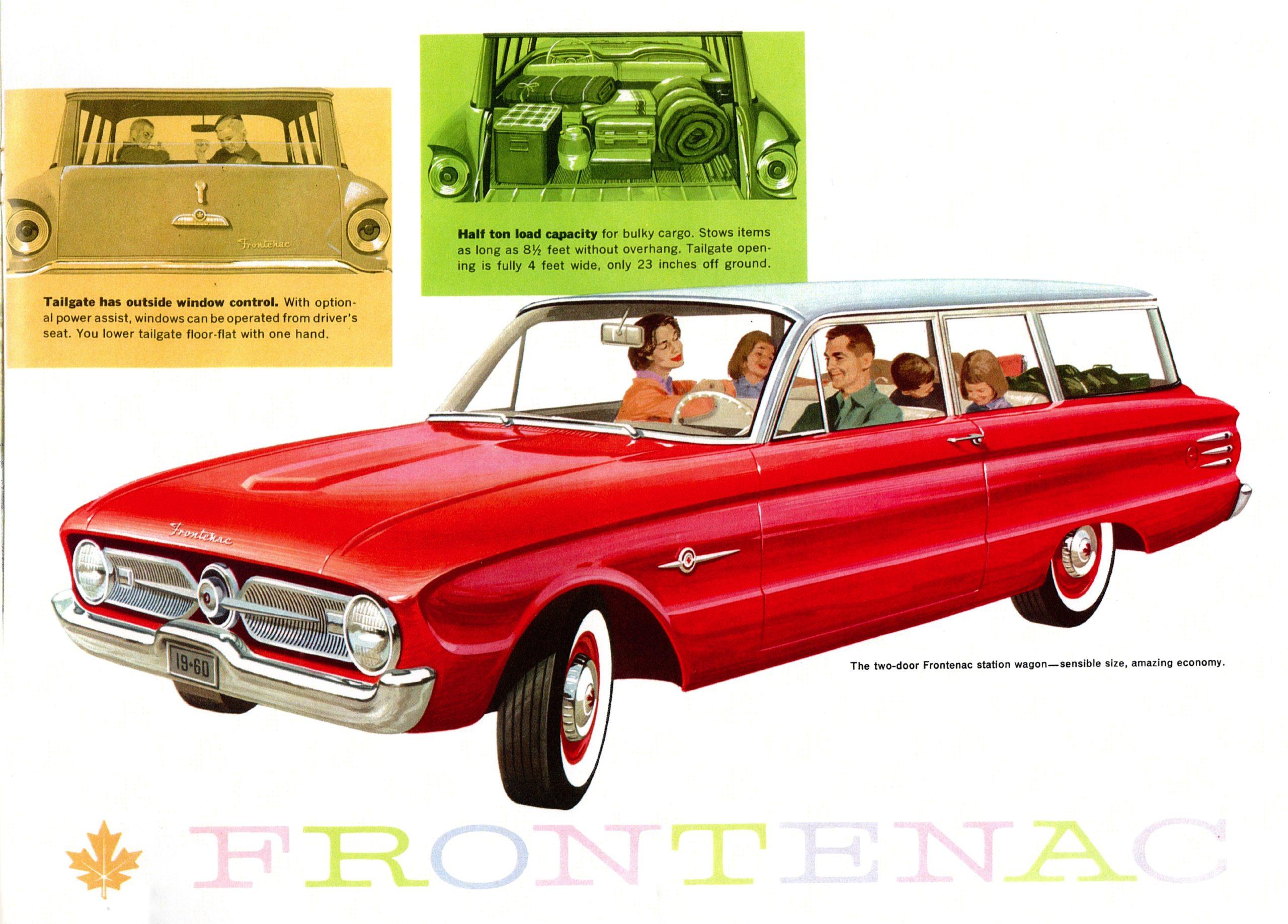 Car advertisement from 1960. Long description available.
