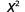 x squared.