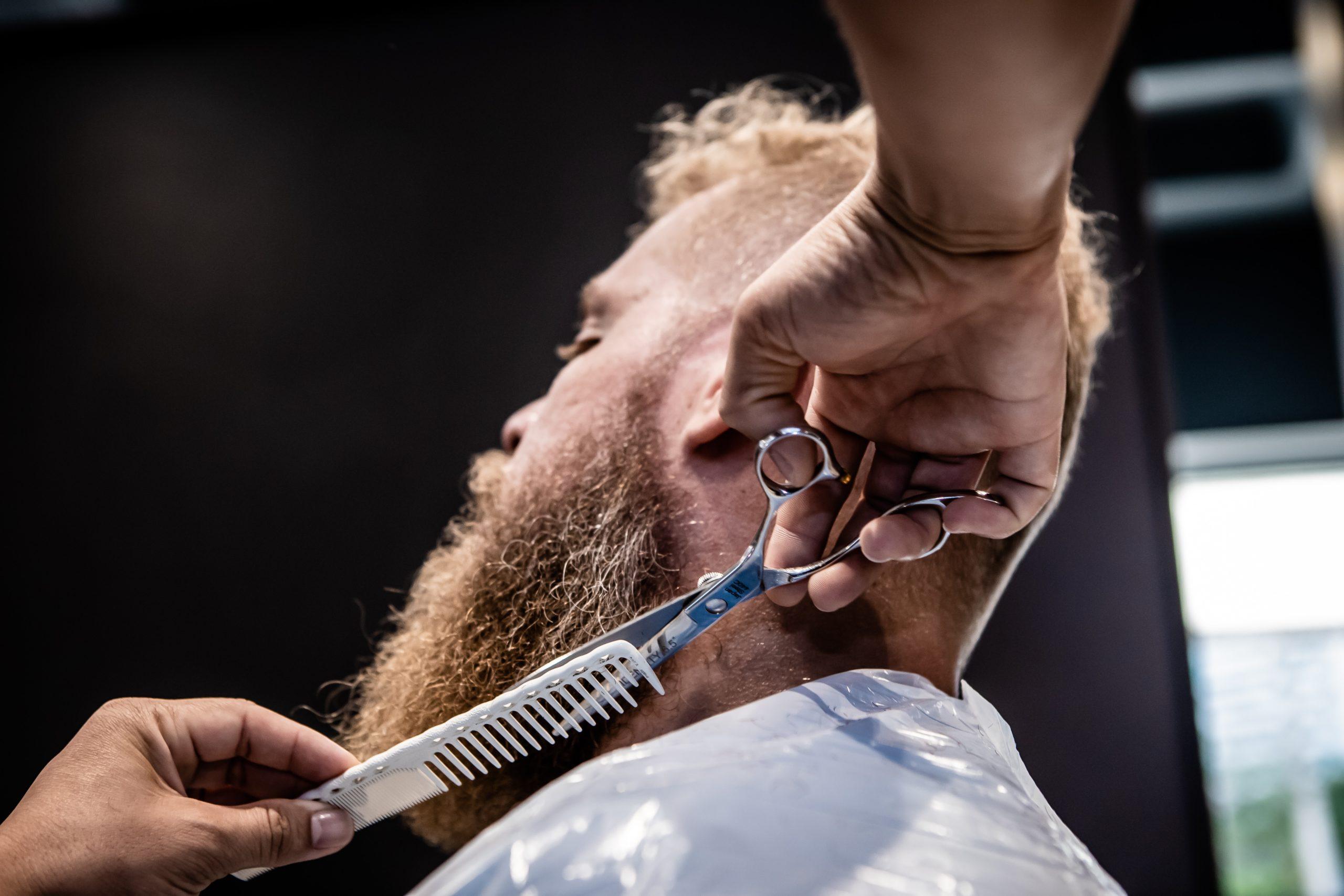 image of beard trim