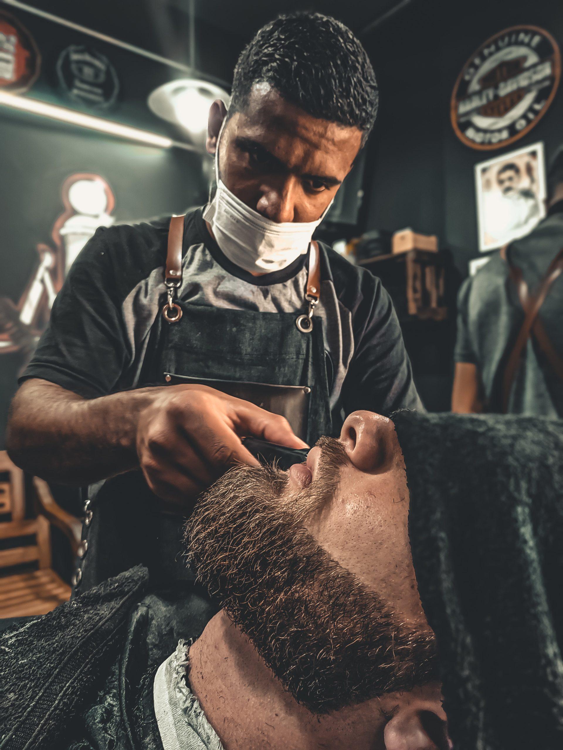 image of moustache trim