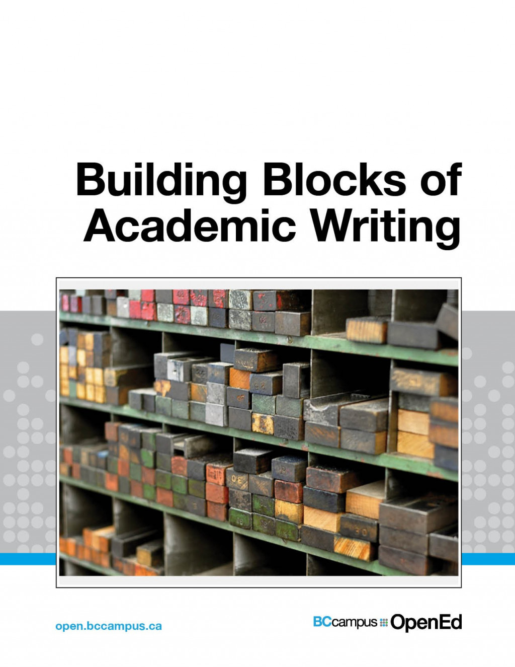 Cover image for Building Blocks of Academic Writing