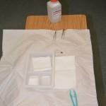 Prepare sterile field