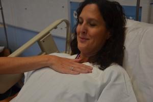 assess respiration rate