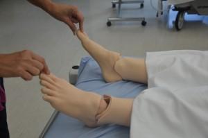 Assess capillary refill