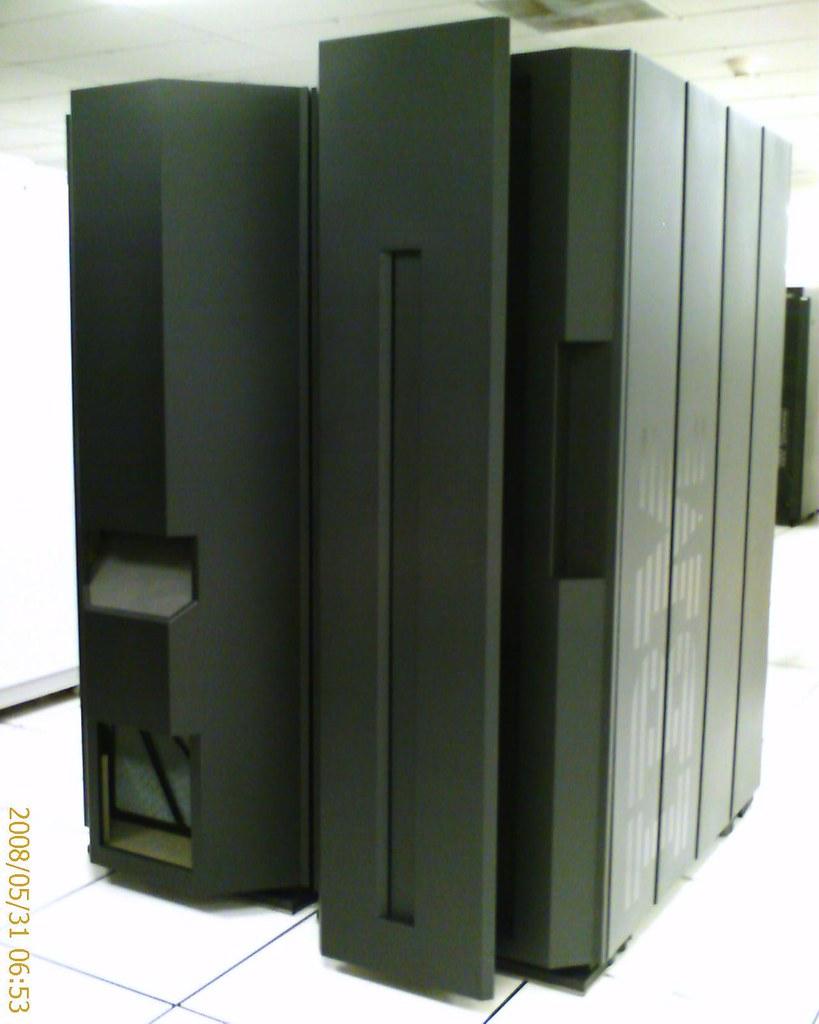 A mainframe computer.