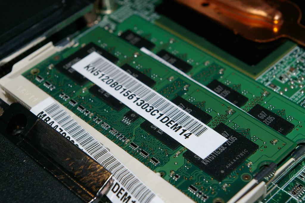 A RAM stick.