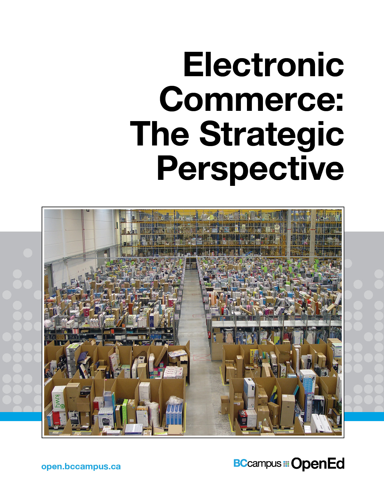 Cover image for Electronic Commerce: The Strategic Perspective