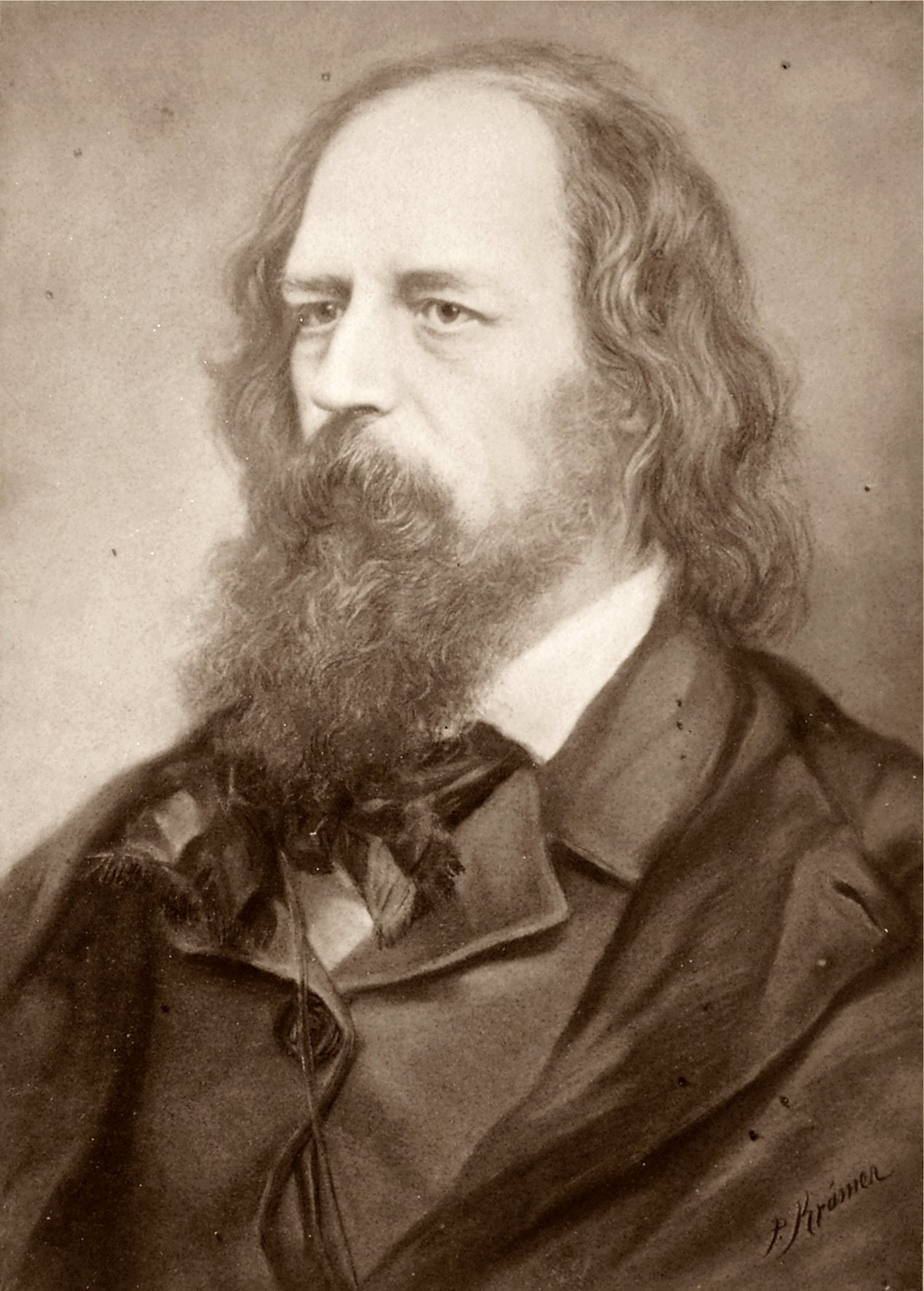 english literature victorians and moderns biography alfred tennyson