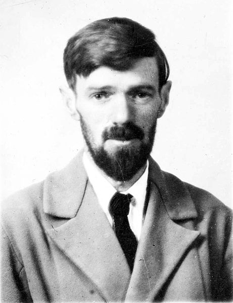 Photograph of DH Lawrence