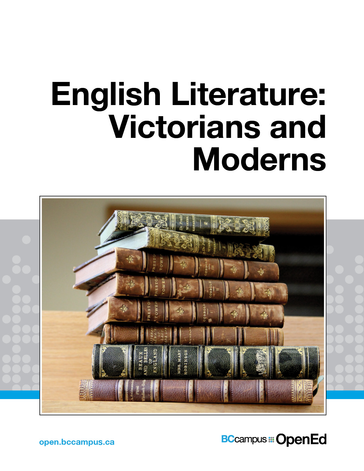 Cover image for English Literature: Victorians and Moderns