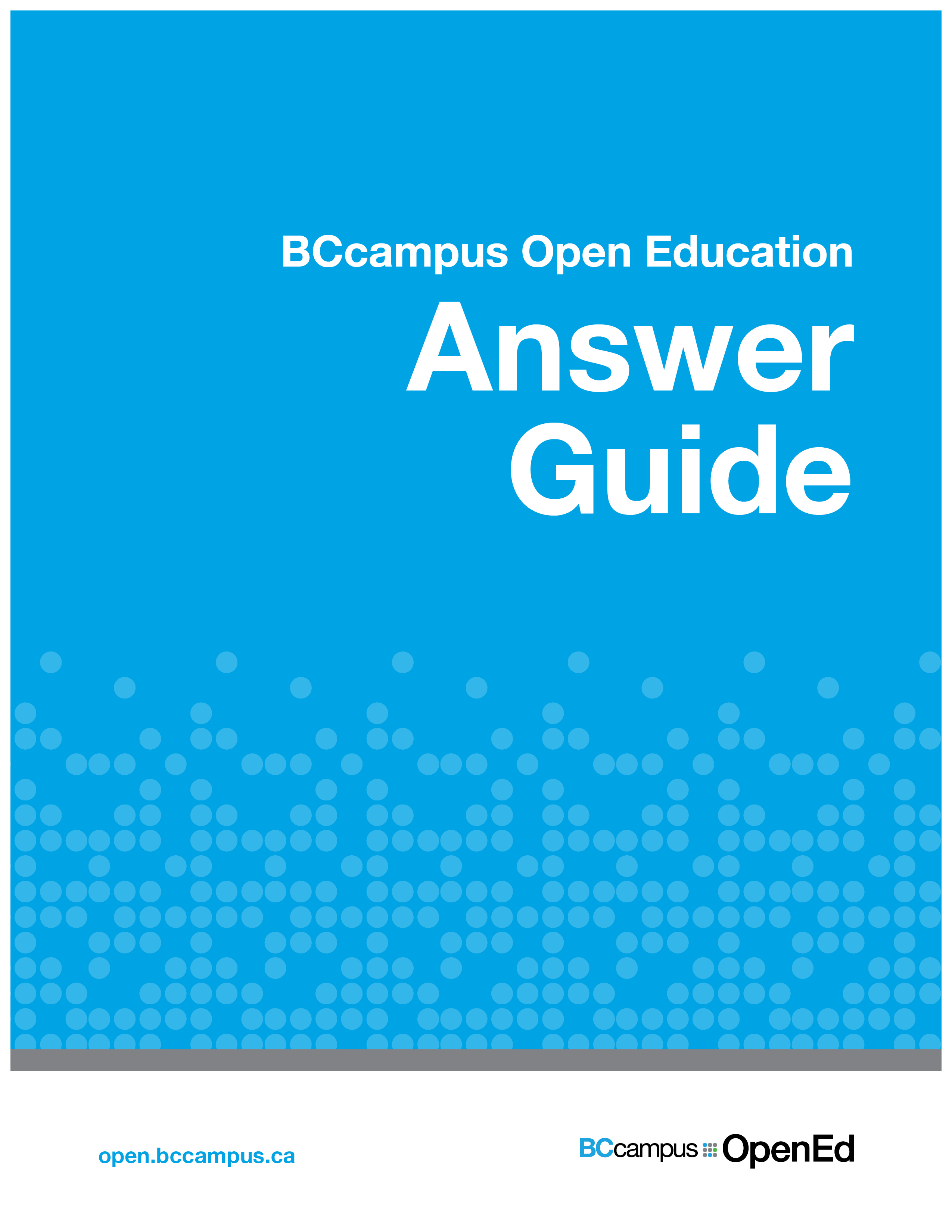 Cover image for Answer Guide