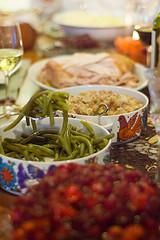 A thanksgiving dinner photo