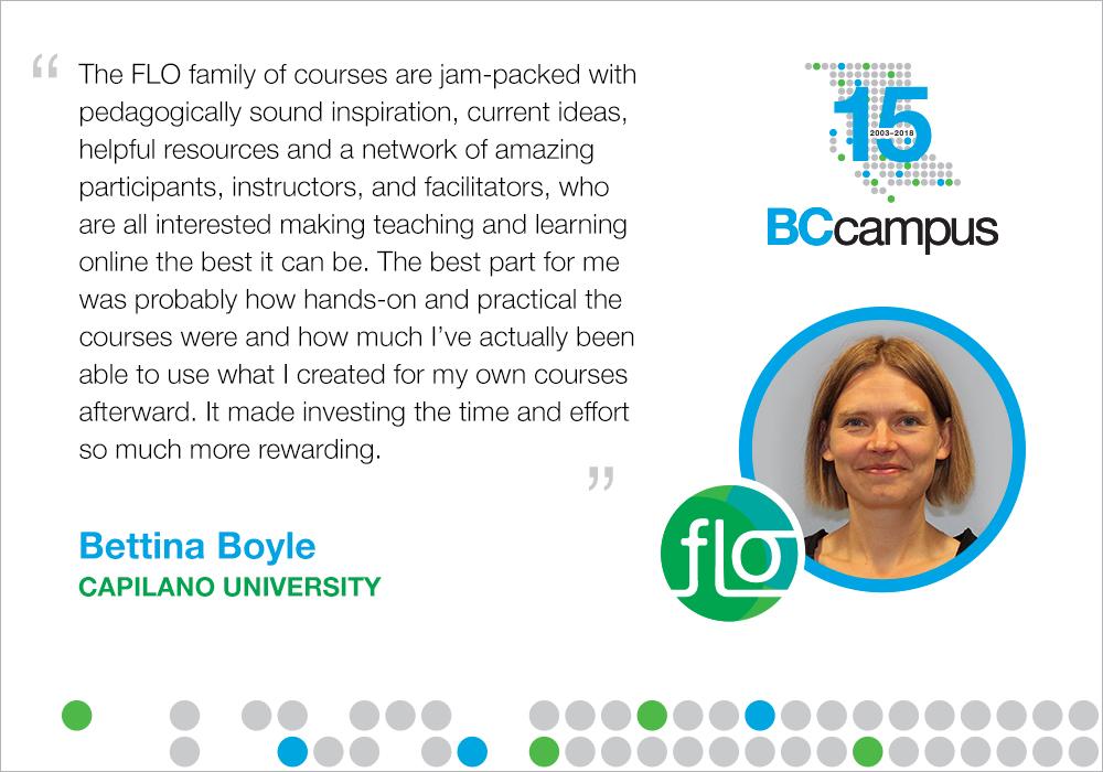 FLO facilitator statement. Long description available.