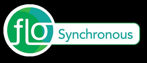 FLO Synchronous course logo