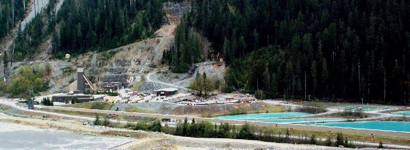 Myra Falls Mine Vancouver Island
