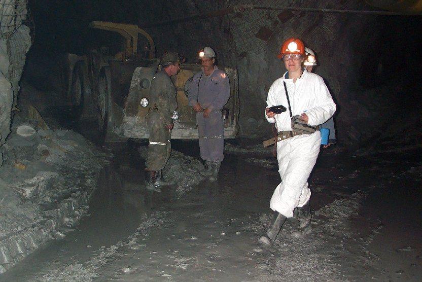 Underground At The Myra Falls Mine Physical Geology