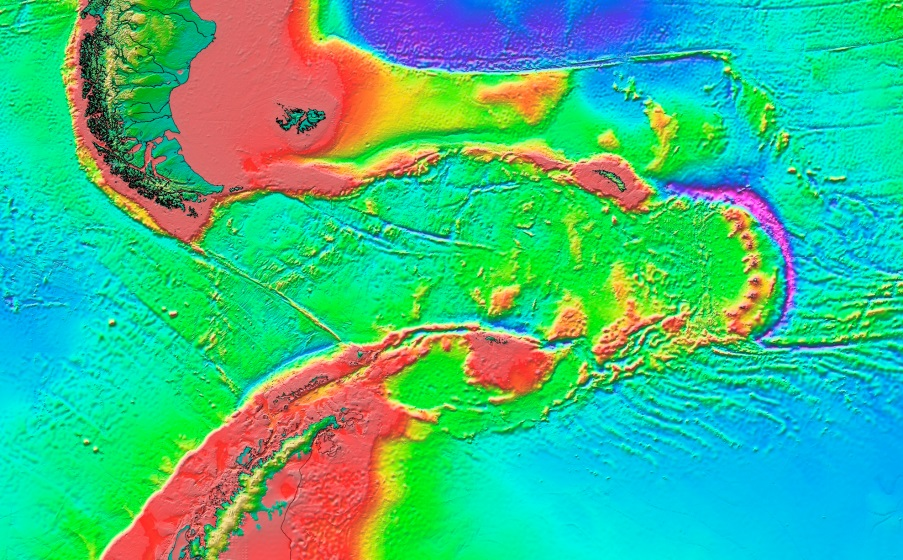 Topographic Map Of Ocean Floor.18 1 The Topography Of The Sea Floor Physical Geology