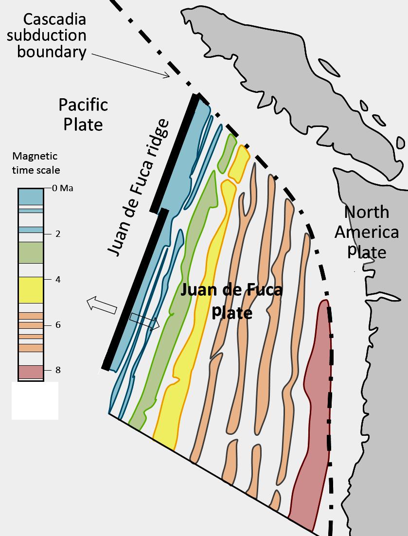 Age of Subducting Crust
