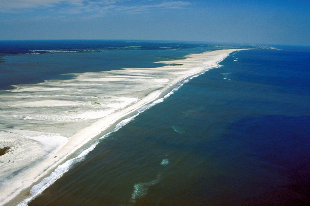 Barrier Islands Off Of Florida Coast