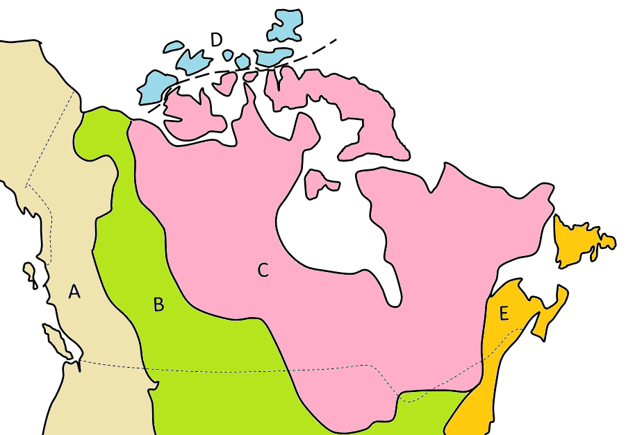 five-main-geological-regions-of-Canada