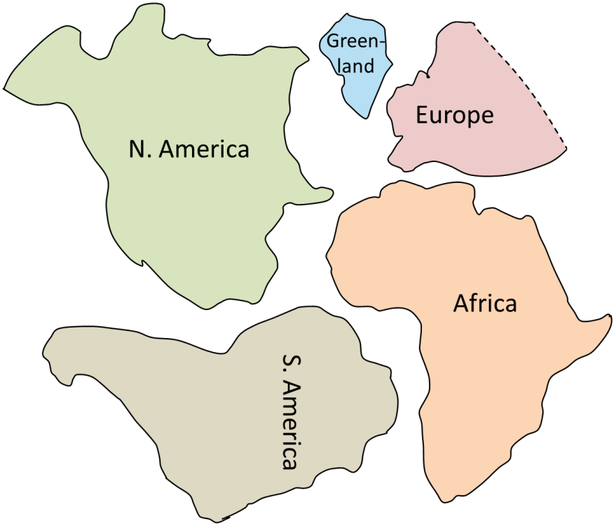 cadillac pangea continent