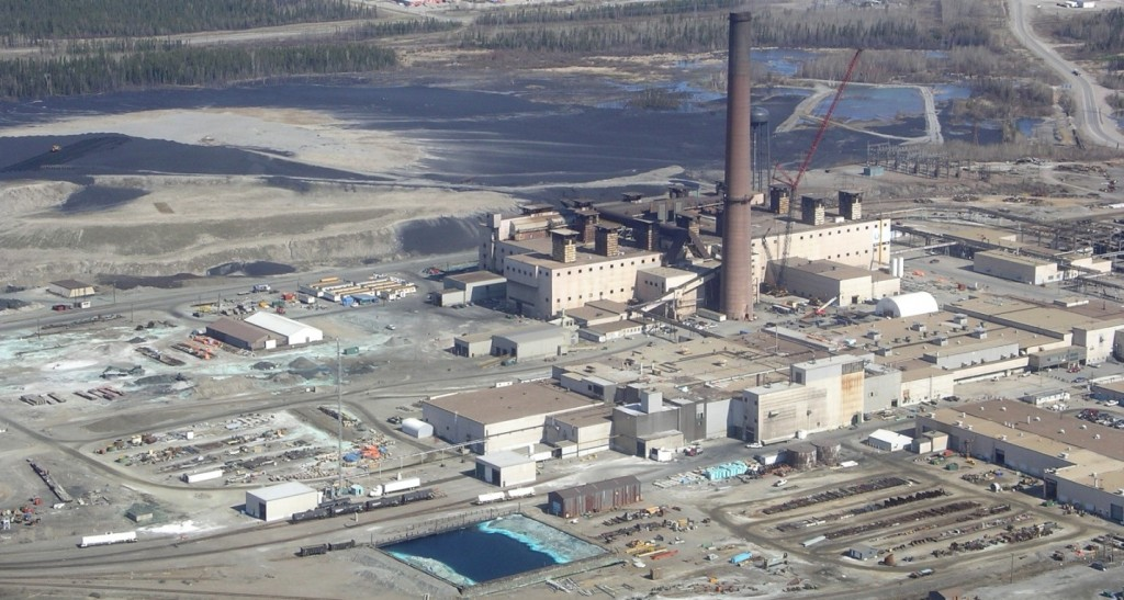 Figure 20.4 The nickel smelter at Thompson, Manitoba [https://en.wikipedia.org/wiki/Thompson,_Manitoba#/media/File:Vale_Nickel_Mine.JPG]