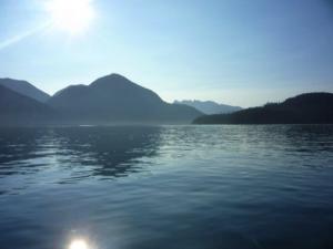 Ehattesaht Territory. Lake and Mountains