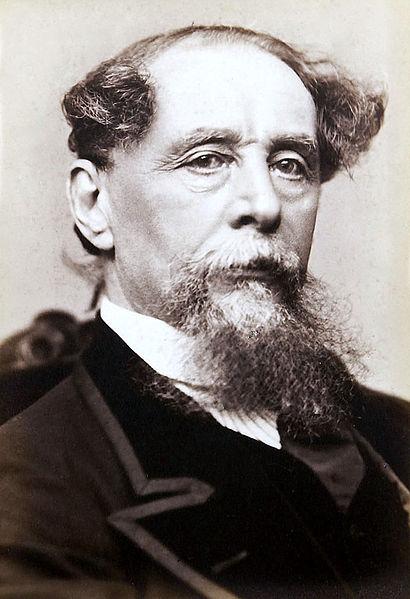Headshot of Charles Dickens