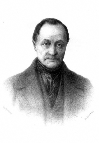 Figure 1.6. Auguste Comte is considered by many to be the father of sociology. (Photo courtesy of Wikimedia Commons)