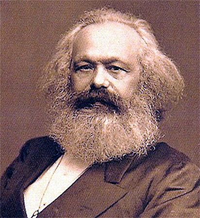 Figure 1.7. Karl Marx was one of the founders of sociology. His ideas about social conflict are still relevant today. (Photo courtesy of John Mayall/Wikimedia Commons)