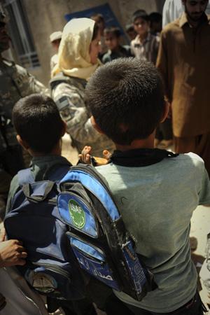 School near completion in Farah Province