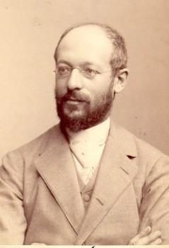 Figure 1.11. Georg Simmel (1858-1918) Wikimedia Commons. (Photo courtesy of Julius Cornelius Schaarwächter/wikimedia commons)